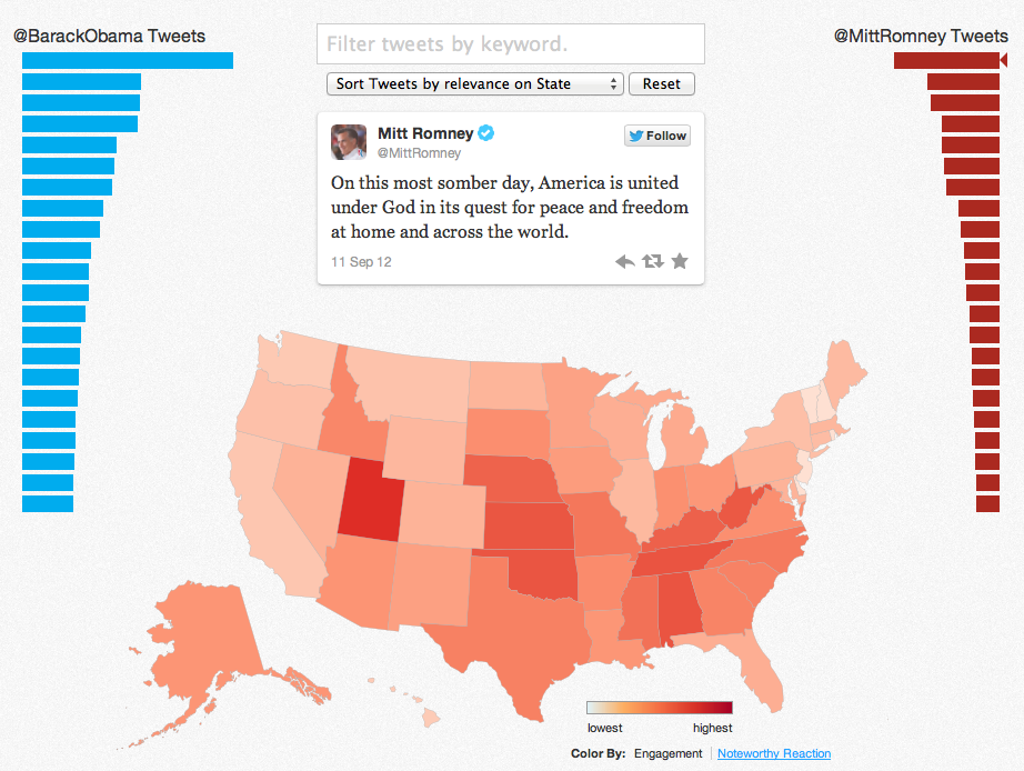 Twitter Election Map