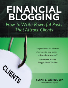 Financial Blogging by Susan Weiner